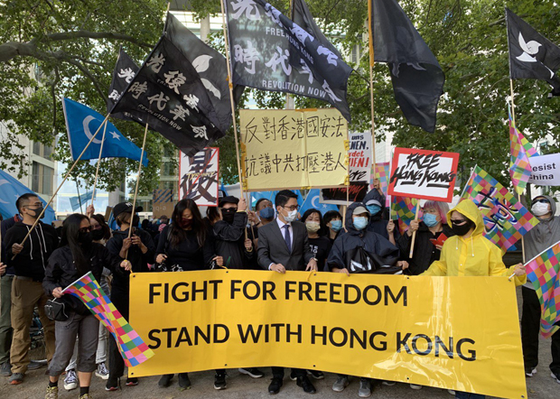 China Using Law to Curb Dissent, Political Opposition in Hong Kong: UK