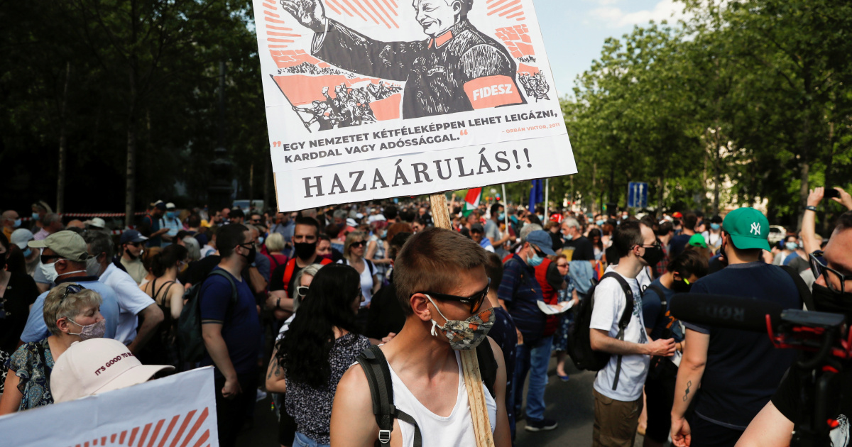 China defends Hungary university plan following Budapest protest