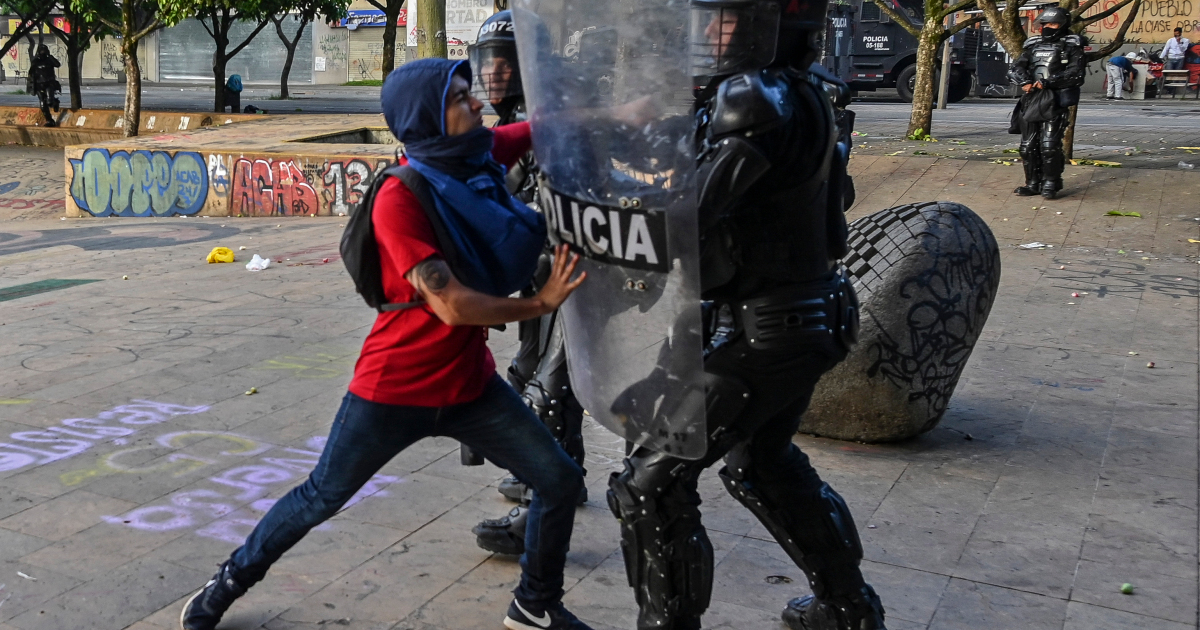 Dozens arrested in latest round of Colombia protests